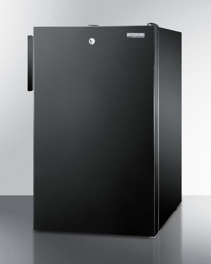 """Summit 20"""" Wide Built-In Refrigerator-Freezer"""