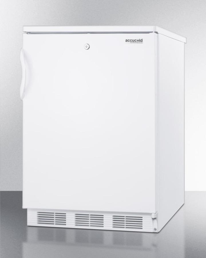 Summit Built-in undercounter refrigerator-freezer