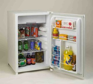 4.5 CF Counterhigh Refrigerator - White
