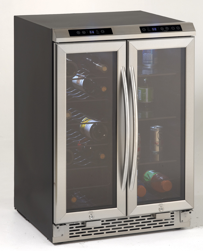 Avanti Side-by-Side Dual Zone Wine/Beverage Cooler