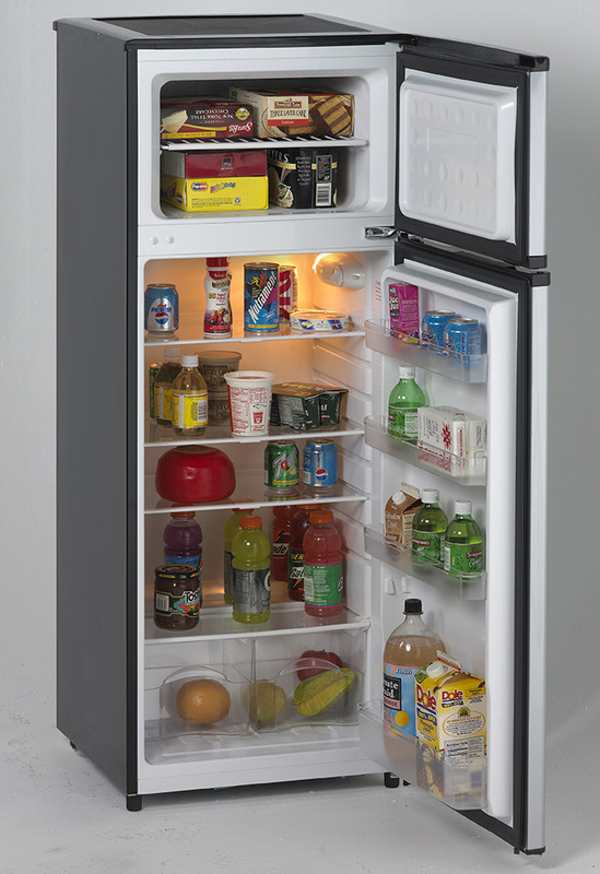 Avanti - RA7316PST - 7.4 CF Two Door Apartment Size Refrigerator ...