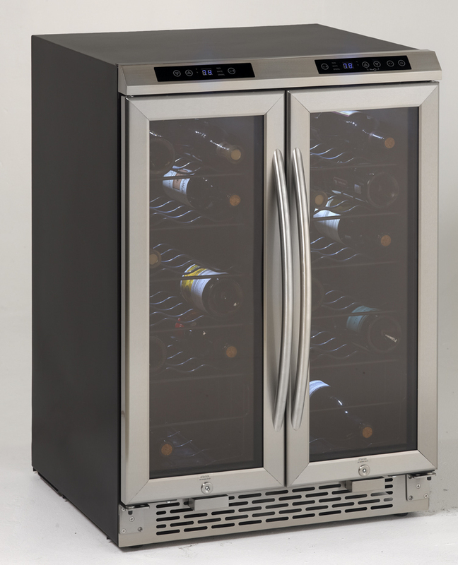 Avanti Side-by-Side Dual Zone Wine Chiller