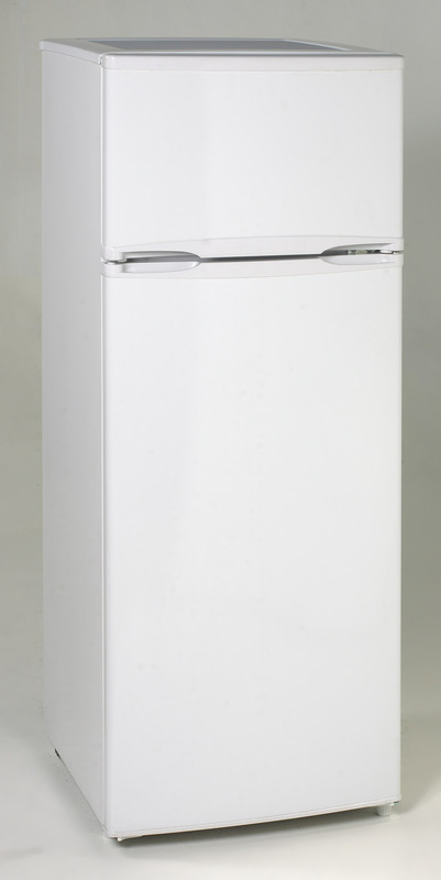 Avanti 7.4 CF Two Door Apartment Size Refrigerator - White