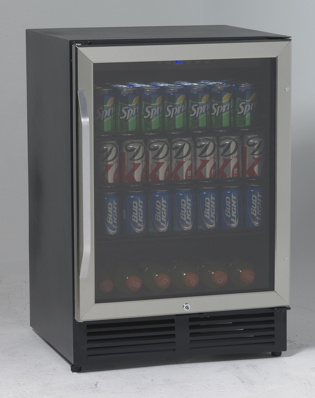 Avanti Beverage Cooler with Glass Door