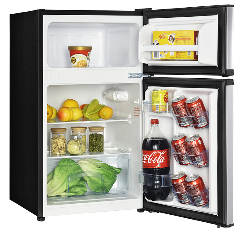 Model: RA31B3S | Avanti 3.1 CF Two Door Counterhigh Refrigerator - Stainless Steel