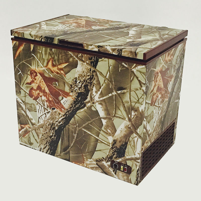 5.1 CF Chest Freezer with Camouflage Design