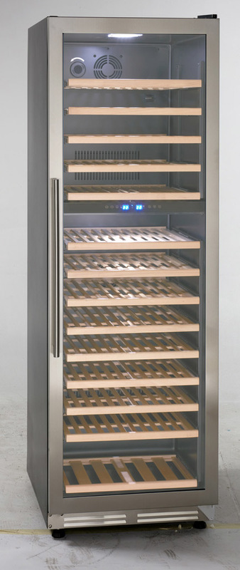 Avanti Up to 154 Bottles Designer Series Dual Zone Wine Chiller