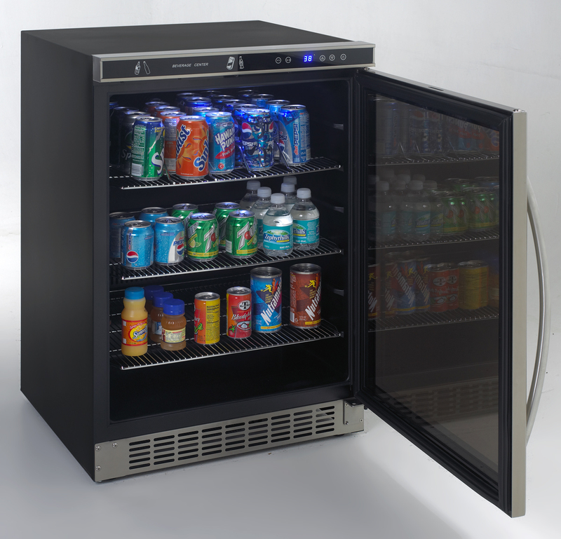 Model: BCA5105SG-1 | Avanti Beverage Cooler with Glass Door