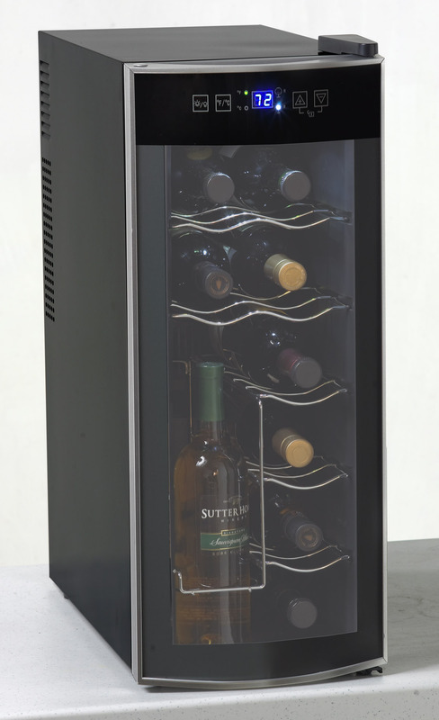 Avanti 12 Bottle Thermoelectric Counter Top Wine Cooler