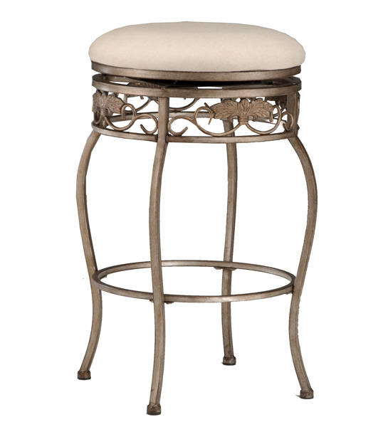 Hillsdale Furniture Bordeaux Backless Swivel Barstool