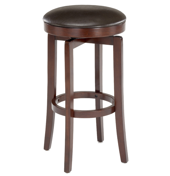 Hillsdale Furniture Malone Backless Swivel Barstool