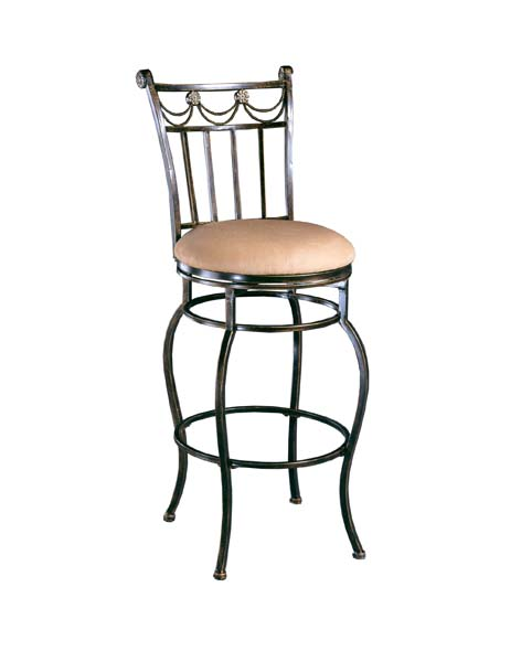 Hillsdale Furniture Camelot Swivel Counter Stool