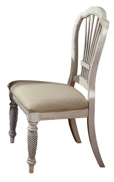 Wilshire Dining Side Chair Antique White