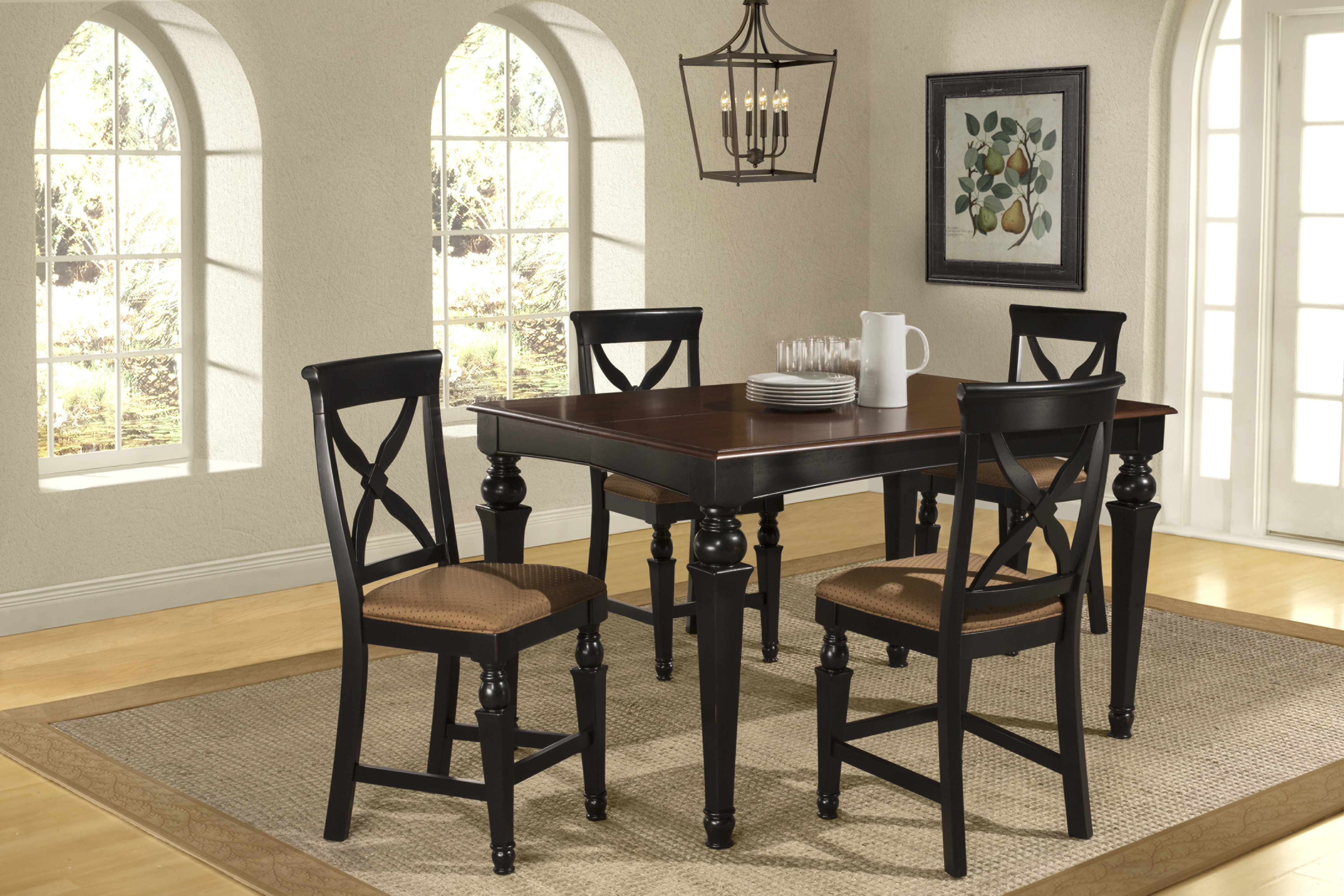 Hillsdale Furniture Northern Heights 5pc Counter Height Dining Set