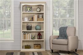 Hillsdale Furniture Tuscan Retreat® Medium Bookcase - Country White