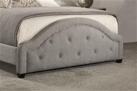 Hillsdale Furniture Belize Footboard - King - Light Gray