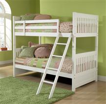 Hillsdale Furniture Lauren Twin Bunk Bed