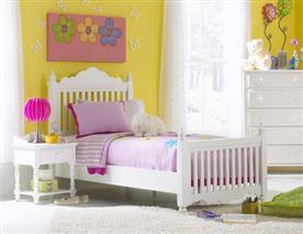 Hillsdale Furniture Lauren Twin Post Bed Set