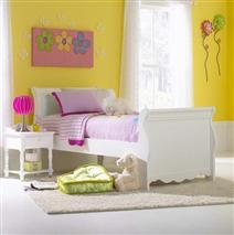 Hillsdale Furniture Lauren Twin Sleigh Bed Set