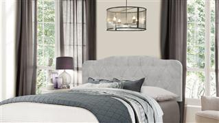 Hillsdale Furniture NICOLE HEADBOARD - FULL/QUEEN - GLACIER GRAY