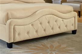Hillsdale Furniture Trieste Footboard - King - Buckwheat
