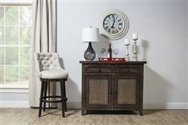 Hillsdale Furniture Tuscan Retreat® Buffet with Old Iron - Mocha