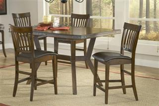 Hillsdale Furniture Arbor Hill 5pc Counter Height Dining Set