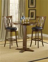 Hillsdale Furniture Dynamic Designs 3pc Pub Set w/ Mansfield Stools