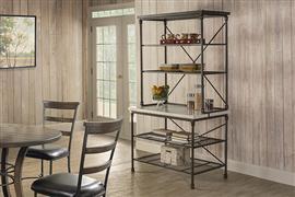Hillsdale Furniture Castille Metal Baker's Rack