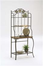Hillsdale Furniture Lakeview Baker's Rack Slate Top