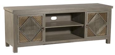 Hillsdale Furniture BAYSHORE ENTERTAINMENT UNIT - DISTRESSED GRAYWASH