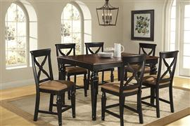 Hillsdale Furniture Northern Heights 7pc Dining Set