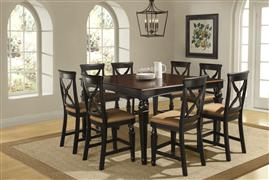 Hillsdale Furniture Northern Heights 9pc Counter Height Dining Set