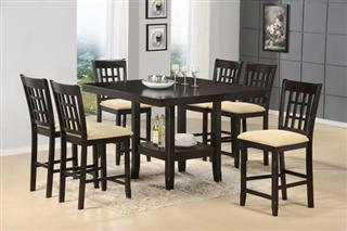 Hillsdale Furniture Tabacon 9pc Counter Height Dining Set