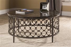 Hillsdale Furniture Brescello Round Coffee Table