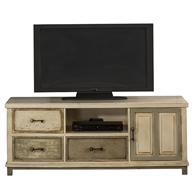 Hillsdale Furniture LAROSE ENTERTAINMENT UNIT - RUSTIC WHITE AND GRAY