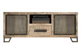 Hillsdale Furniture Bridgewater Entertainment Console - Brushed Tan Wood