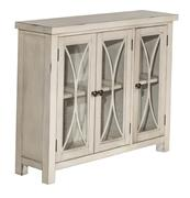 Hillsdale Furniture Bayside 3 Door Cabinet - Antique White