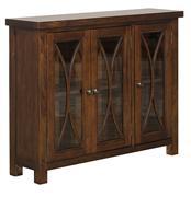 Hillsdale Furniture Bayside 3 Door Cabinet - Rustic Mahogany