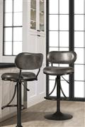 Hillsdale Furniture Athena Swivel Adjustable Stool - Black
