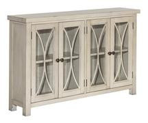 Hillsdale Furniture Bayside 4 Door Cabinet - Antique White