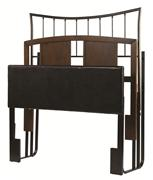 Hillsdale Furniture HEADBOARD / DAYBED DISPLAY RACK - Fits Daybed Arms or Headboards - Black