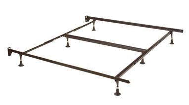 Hillsdale Furniture Queen/King/Cal King 6 Leg Headboard Frame - Brown