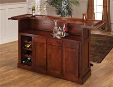 Hillsdale Furniture Classic Brown Cherry Large Bar Top