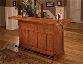 Hillsdale Furniture Classic Oak Large Bar