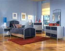 Hillsdale Furniture Brayden 4pc Mesh Full Bedroom Suite
