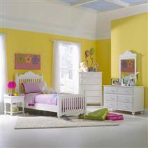 Hillsdale Furniture Lauren 4pc Twin Post Bedroom Suite