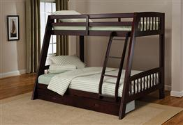 Hillsdale Furniture Rockdale Bunk Bed - Espresso