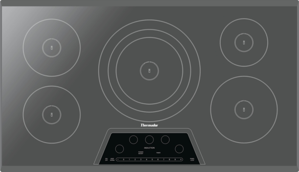 Thermador 36 inch Masterpiece Series Induction Cooktop