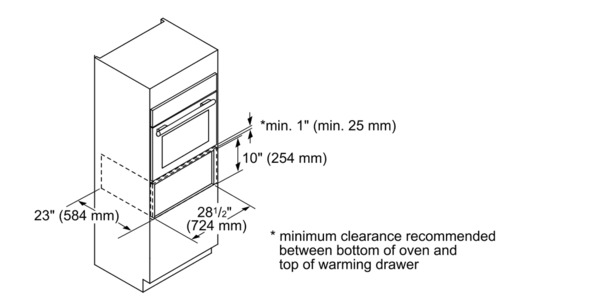 30 inch Professional Series Convection Warming Drawer